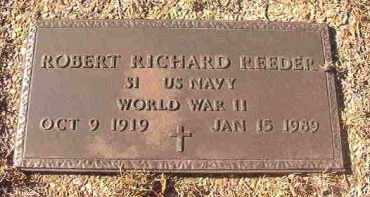 REEDER (VETERAN WWII), ROBERT RICHARD - Dallas County, Arkansas | ROBERT RICHARD REEDER (VETERAN WWII) - Arkansas Gravestone Photos