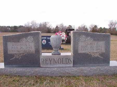 REYNOLDS, CLARA S - Dallas County, Arkansas   CLARA S REYNOLDS - Arkansas Gravestone Photos