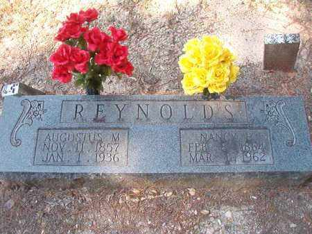REYNOLDS, AUGUSTUS M - Dallas County, Arkansas | AUGUSTUS M REYNOLDS - Arkansas Gravestone Photos