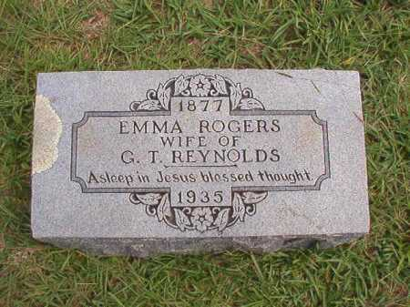 REYNOLDS, EMMA - Dallas County, Arkansas | EMMA REYNOLDS - Arkansas Gravestone Photos