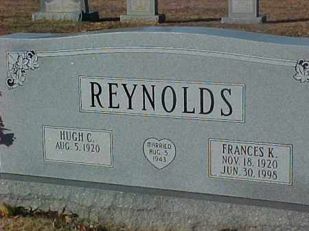 REYNOLDS, FRANCES K. - Dallas County, Arkansas | FRANCES K. REYNOLDS - Arkansas Gravestone Photos