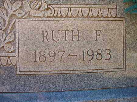 REYNOLDS, RUTH F - Dallas County, Arkansas | RUTH F REYNOLDS - Arkansas Gravestone Photos