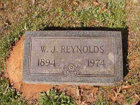 REYNOLDS, W J - Dallas County, Arkansas | W J REYNOLDS - Arkansas Gravestone Photos