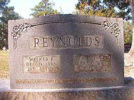 REYNOLDS, WALKER F - Dallas County, Arkansas | WALKER F REYNOLDS - Arkansas Gravestone Photos