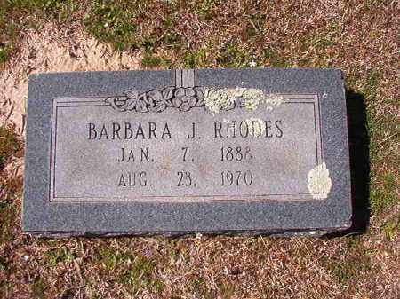 RHODES, BARBARA J - Dallas County, Arkansas | BARBARA J RHODES - Arkansas Gravestone Photos