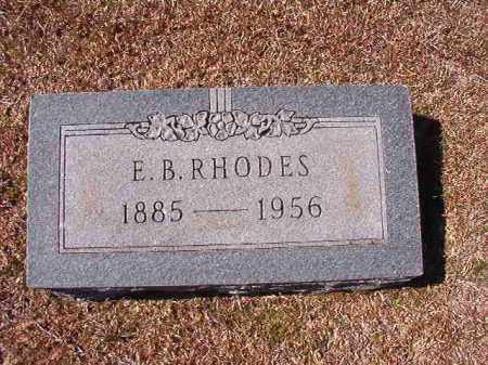 RHODES, E B - Dallas County, Arkansas | E B RHODES - Arkansas Gravestone Photos