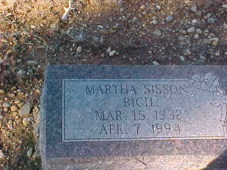 RICH, MARTHA - Dallas County, Arkansas | MARTHA RICH - Arkansas Gravestone Photos