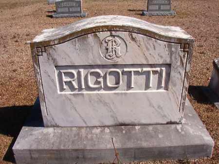 RIGOTTI, MEMORIAL - Dallas County, Arkansas   MEMORIAL RIGOTTI - Arkansas Gravestone Photos