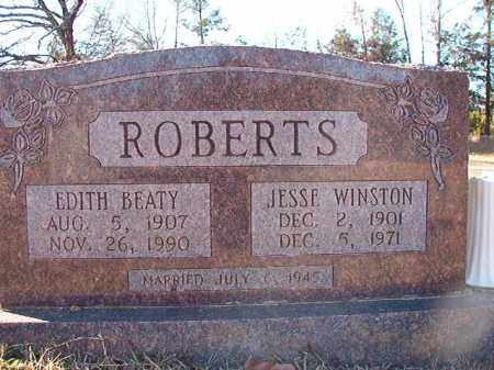 ROBERTS, EDITH - Dallas County, Arkansas | EDITH ROBERTS - Arkansas Gravestone Photos