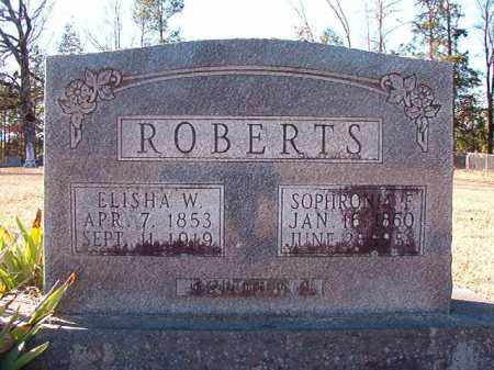 ROBERTS, SOPHRONIA F - Dallas County, Arkansas | SOPHRONIA F ROBERTS - Arkansas Gravestone Photos
