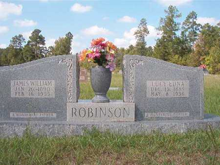ROBINSON, LUCY EDNA - Dallas County, Arkansas | LUCY EDNA ROBINSON - Arkansas Gravestone Photos