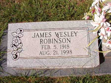 ROBINSON, JAMES WESLEY - Dallas County, Arkansas | JAMES WESLEY ROBINSON - Arkansas Gravestone Photos