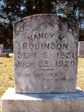 ROBINSON, NANCY V - Dallas County, Arkansas | NANCY V ROBINSON - Arkansas Gravestone Photos