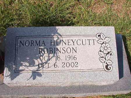 HUNEYCUTT ROBINSON, NORMA - Dallas County, Arkansas | NORMA HUNEYCUTT ROBINSON - Arkansas Gravestone Photos