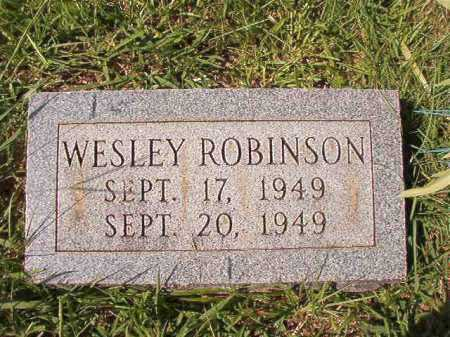 ROBINSON, WESLEY - Dallas County, Arkansas | WESLEY ROBINSON - Arkansas Gravestone Photos