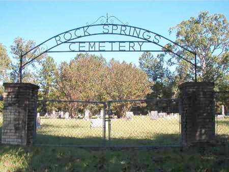 *ROCK SPRINGS, CEMETERY - Dallas County, Arkansas | CEMETERY *ROCK SPRINGS - Arkansas Gravestone Photos