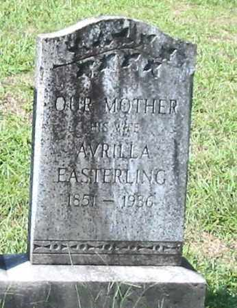 EASTERLING ROGERS, AVRILLA - Dallas County, Arkansas | AVRILLA EASTERLING ROGERS - Arkansas Gravestone Photos