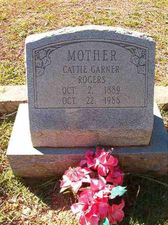 GARNER ROGERS, CATTIE - Dallas County, Arkansas | CATTIE GARNER ROGERS - Arkansas Gravestone Photos