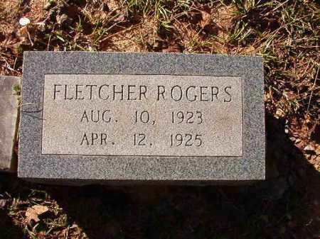 ROGERS, FLETCHER - Dallas County, Arkansas | FLETCHER ROGERS - Arkansas Gravestone Photos