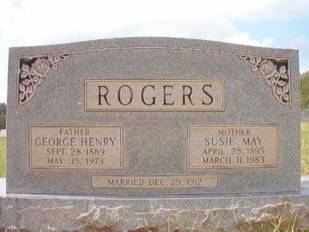 ROGERS, SUSIE MAY - Dallas County, Arkansas | SUSIE MAY ROGERS - Arkansas Gravestone Photos