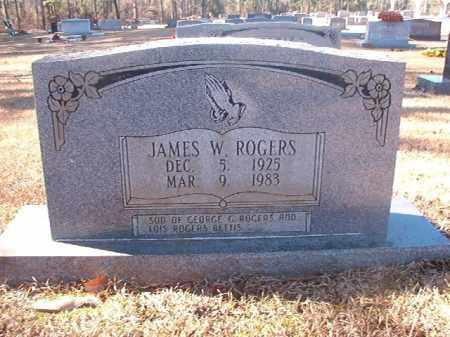 ROGERS, JAMES W - Dallas County, Arkansas | JAMES W ROGERS - Arkansas Gravestone Photos