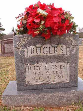 GREEN ROGERS, LUCY G - Dallas County, Arkansas | LUCY G GREEN ROGERS - Arkansas Gravestone Photos