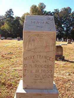 ROGERS, MARY FRANCES - Dallas County, Arkansas | MARY FRANCES ROGERS - Arkansas Gravestone Photos