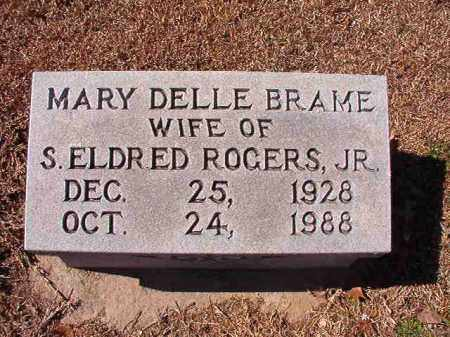 ROGERS, MARY DELLE - Dallas County, Arkansas | MARY DELLE ROGERS - Arkansas Gravestone Photos