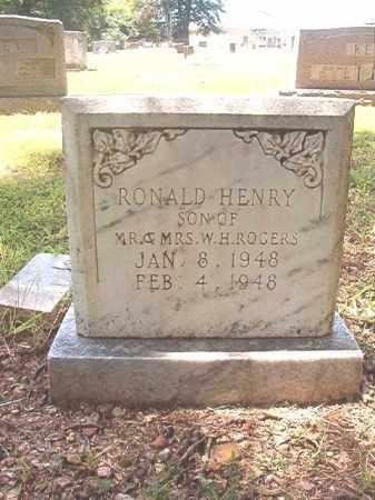 ROGERS, RONALD HENRY - Dallas County, Arkansas | RONALD HENRY ROGERS - Arkansas Gravestone Photos