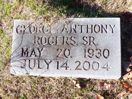 ROGERS, SR, GEORGE ANTHONY - Dallas County, Arkansas | GEORGE ANTHONY ROGERS, SR - Arkansas Gravestone Photos