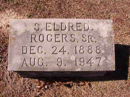 ROGERS, SR, S ELDRED - Dallas County, Arkansas | S ELDRED ROGERS, SR - Arkansas Gravestone Photos
