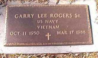 ROGERS, SR (VETERAN VIET), GARRY LEE - Dallas County, Arkansas | GARRY LEE ROGERS, SR (VETERAN VIET) - Arkansas Gravestone Photos