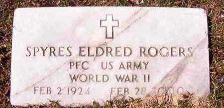 ROGERS (VETERAN WWII), SPYRES ELDRED - Dallas County, Arkansas | SPYRES ELDRED ROGERS (VETERAN WWII) - Arkansas Gravestone Photos