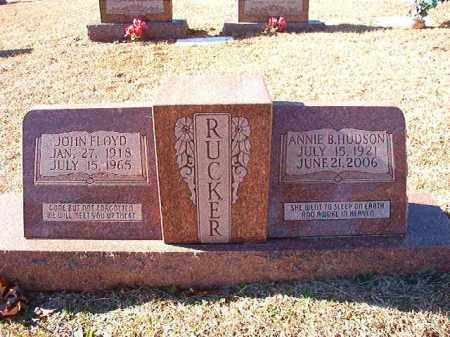 HUDSON RUCKER, ANNIE B - Dallas County, Arkansas | ANNIE B HUDSON RUCKER - Arkansas Gravestone Photos