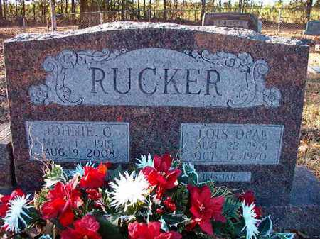 RUCKER, LOIS OPAL - Dallas County, Arkansas | LOIS OPAL RUCKER - Arkansas Gravestone Photos