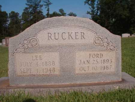 RUCKER (OBIT), FORD - Dallas County, Arkansas | FORD RUCKER (OBIT) - Arkansas Gravestone Photos