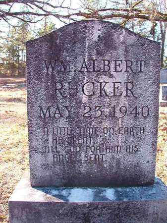 RUCKER, WILLIAM ALBERT - Dallas County, Arkansas | WILLIAM ALBERT RUCKER - Arkansas Gravestone Photos