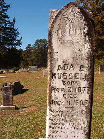 RUSSELL, ADA E - Dallas County, Arkansas | ADA E RUSSELL - Arkansas Gravestone Photos