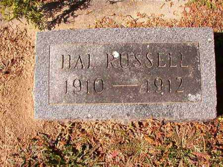 RUSSELL, HAL - Dallas County, Arkansas | HAL RUSSELL - Arkansas Gravestone Photos