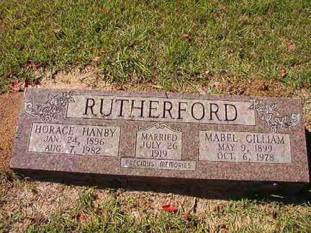 RUTHERFORD, MABEL - Dallas County, Arkansas | MABEL RUTHERFORD - Arkansas Gravestone Photos
