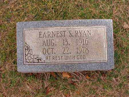 RYAN, EARNEST S - Dallas County, Arkansas | EARNEST S RYAN - Arkansas Gravestone Photos