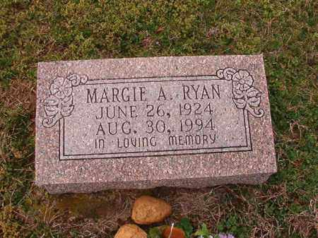 RYAN, MARGIE A - Dallas County, Arkansas | MARGIE A RYAN - Arkansas Gravestone Photos