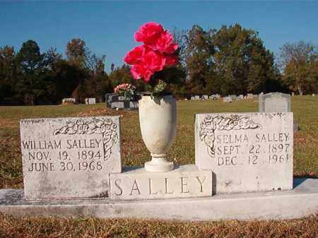 SALLEY, WILLIAM - Dallas County, Arkansas | WILLIAM SALLEY - Arkansas Gravestone Photos