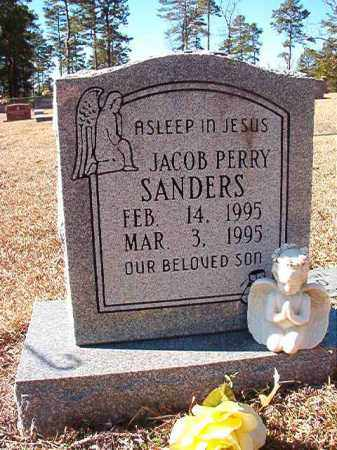 SANDERS, JACOB PERRY - Dallas County, Arkansas | JACOB PERRY SANDERS - Arkansas Gravestone Photos