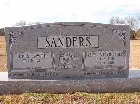 SEALE SANDERS, MARY EVELYN - Dallas County, Arkansas | MARY EVELYN SEALE SANDERS - Arkansas Gravestone Photos