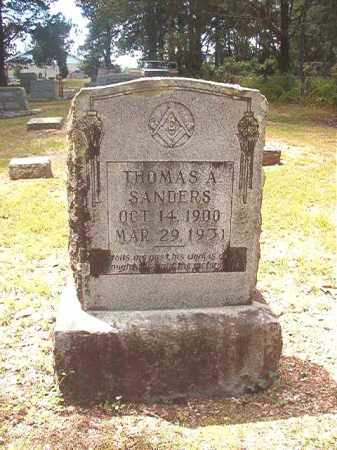 SANDERS, THOMAS A - Dallas County, Arkansas | THOMAS A SANDERS - Arkansas Gravestone Photos