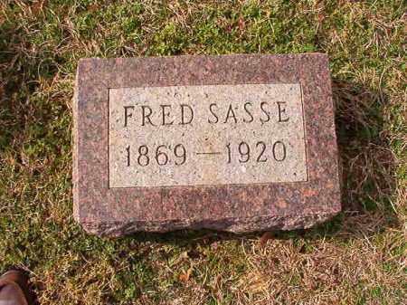 SASSE, FRED - Dallas County, Arkansas | FRED SASSE - Arkansas Gravestone Photos