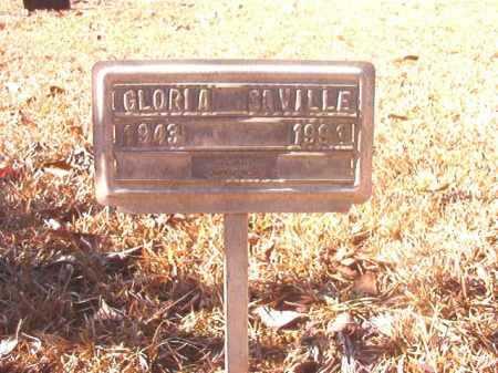 SAVILLE, GLORIA - Dallas County, Arkansas | GLORIA SAVILLE - Arkansas Gravestone Photos