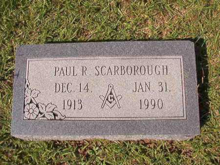 SCARBOROUGH, PAUL R - Dallas County, Arkansas | PAUL R SCARBOROUGH - Arkansas Gravestone Photos