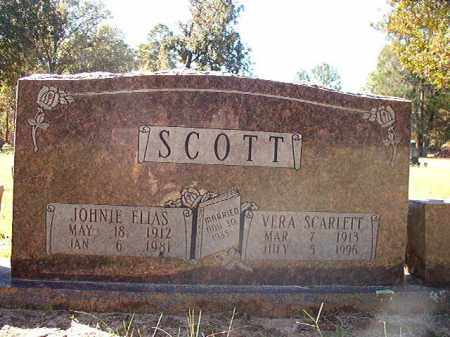 SCARLETT SCOTT, VERA - Dallas County, Arkansas | VERA SCARLETT SCOTT - Arkansas Gravestone Photos